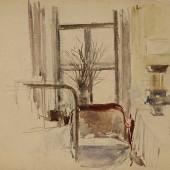Интерьер в Казачьем переулке. 1930-е