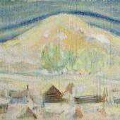 Зимой. Урал. 1931