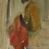 За шитьем. 1933