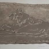 Львица с львенком, 1960