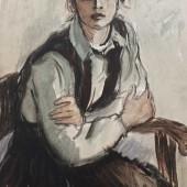 Портрет Наташи Максимовой, 1963