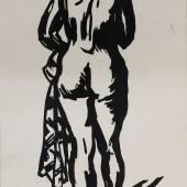 Обнаженная (со спины), 1960