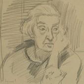 Портрет Веры Евграфовны Чикиной 1947(?)