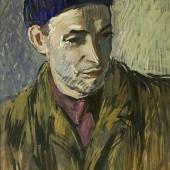Портрет скульптора Недельмана. Рига, 1959