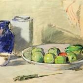 Натюрморт с зелеными фруктами, 1959