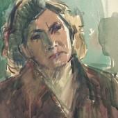 Женский портрет 1959 (?)
