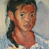 Калмыцкая девочка, 1957 (?)