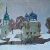 Церковь Покрова. Земляная слобода. Ст. Чулково, 1957