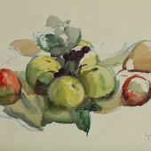 Яблоки, 1957