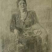 Певица Надежда Андреевна Обухова, 1954