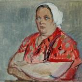Елена Григорьевна Шумилина. Завод им. Ильича, цех №17, 1959