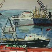 Одесский порт, 1962