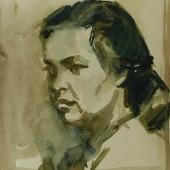 Портрет женщины, 1960-е (?)