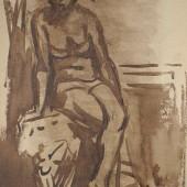 Обнаженная (коричневая), 1961