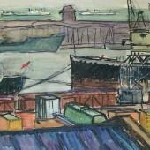 Одесский порт. Грузовые суда, 1962