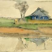Синий домик у воды, 1960-е