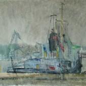 В Одесском порту, 1962