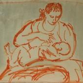 Молодая мать, 1960