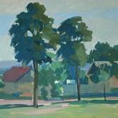 Молдавский пейзаж, 1967