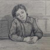 Портрет девочки, 1948