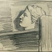 Гипсовая голова, 1944