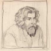 Портрет художника Ефрема Давидовича, 1941