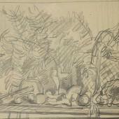 Натюрморт (набросок), 1946