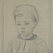 Портрет Саши 1947 (?)