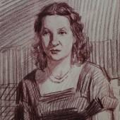 Портрет актрисы МХАТ Антонины Петровны Берестовой, 1940