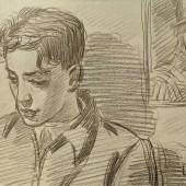 Портрет сына, Вторая половина 1940-х