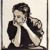 Женский портрет (Валюш), 1958