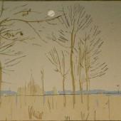 Поздняя осень (вариант), 1964