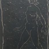 Обнаженная (шагающая), Без даты (после 1958)
