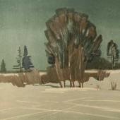 Зимняя ночь, Без даты (после 1958)