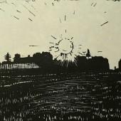 Пейзаж с солнцем, 1968