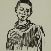 Мальчик (в свитере), Конец 1950-х
