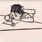 Первоклассница, 1958