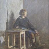 «Девочка в валенках» 1930-е годы. 60х45