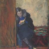 «Женщина в интерьере» 1938 г. 65х50