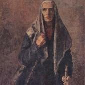 «Мать» (Вариант картины) (Из цикла «В дни испытаний») 1943 г. 105х80