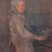 «Маша работница авиационного завода» 1943 г 80х60