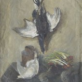 «Натюрморт с птицами» 1937 г. 85х65