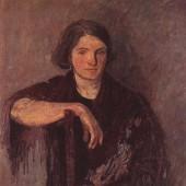 «Портрет жены» 1937 г. 77х82