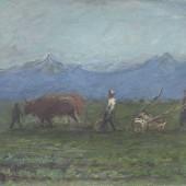 «Пахарь» (Киргизия) 1936 г. 40х45