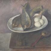 «Рыбы и яйца» 1935 г. 40х48
