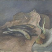 «Рыбы и луковицы» 1934 г. 45х55