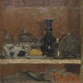 «Стеклянная посуда» 1938 г. 46х65