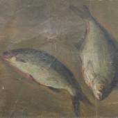«Две рыбы» 1935 г. 45х50