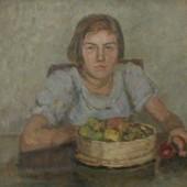 «Девочка с яблоками» 1938 г. 66х78