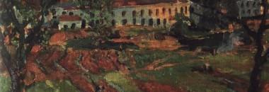 Григорий Филипповский. Ленинградский пейзаж 1935 (?)